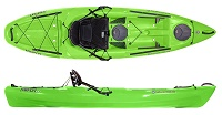 Wilderness Systems Tarpon 100 comfortable short sit on top fishing kayak