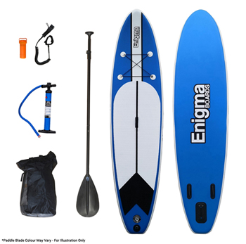 Enigma Boards 11ft Inflatable Stand Up Paddle Board Package Ideal For Beginners Wanting To Try Something New